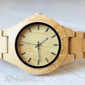 Damski drewniany zegarek seria FULL WOOD, drewniany, bransoleta, ekologiczny,