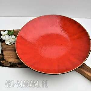 Duża patera ceramiczna ceramika tyka ceramika, patera, talerz