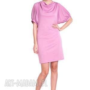 sukienka marcela - różowa - moda