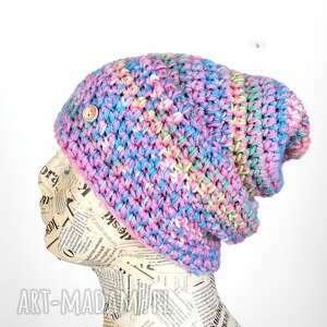 GoDeco: czapka beanie kolorowa 066, pastelowa, na prezent, urodziny