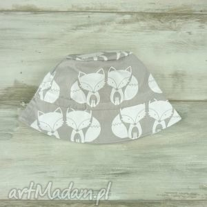 ręczne wykonanie dla dziecka kapelusz dla dziecka, białe kotki