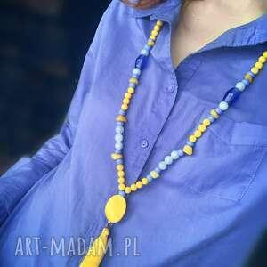 Naszyjnik z chwostem aurelia naszyjniki bead story z-chwostem