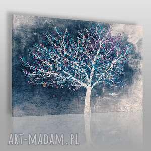 obraz na płótnie - drzewo pejzaż 90x60 cm (30602/90x60)