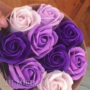 hand-made prezenty na święta super box kwiaty z mydła