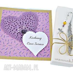 zakładki prezent dla nauczyciela - zamiast kwiatów, zakładka, kartka, kwiaty
