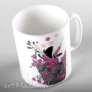 eksplozja kwiatów kubek, kubki, ceramika, prezent, kobieta, kwiaty, imieniny