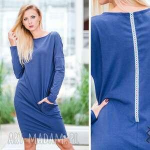 handmade sukienki overlong   sukienka dresowa