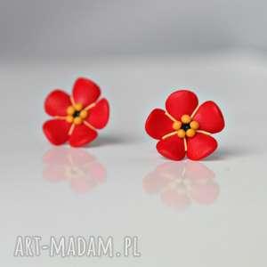 kwiatuszki - kolczyki wkrętki
