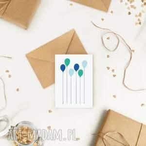 kartki ekologiczna kartka okolicznościowa urodzinowa grattis, minimalizm