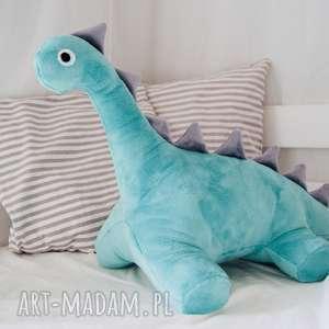 handmade maskotki timosimo - przytulanka dinozaur arek