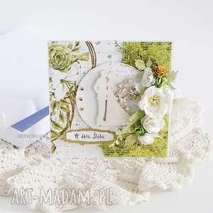 kartka ślubna w pudełku 448, prezent, wesele