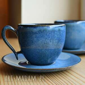 ceramika filiżanki ceramiczne zestaw kawowy dla dwojga, filiżanki