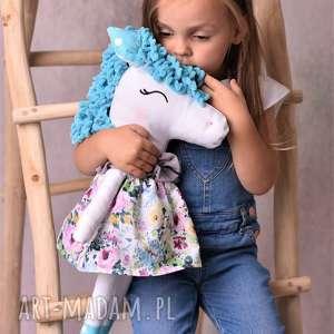 przytulanka dziecięca koń, koń przytulanka, handmade, pomysł na prezent