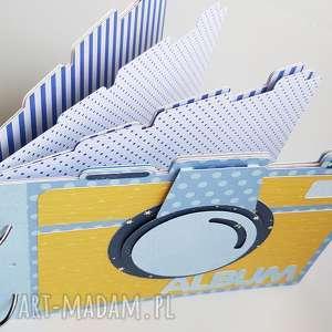 Album na zdjęcia - aparat scrapbooking albumy iride handmade