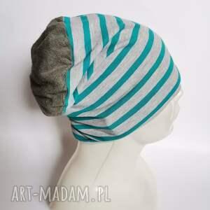 handmade czapki czapka dziecięca na 8 -12 lat, wiosenna, podszewce, obwód 54 -55cm, moze