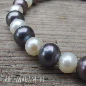 hand-made bransoletka z pereł rzecznych