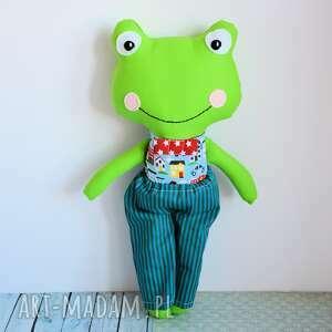 ręcznie wykonane zabawki żabka - super kumpel tomuś 45