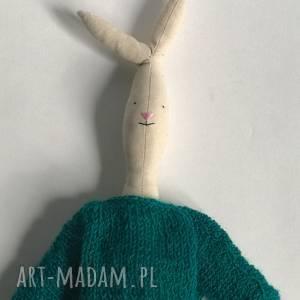 hand-made maskotki zając na prezent dla dziecka maskotka