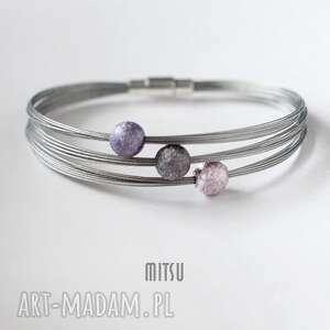 Industrial Violet, industrial, minimalizm, elegancka, klasyczna, fioletowa, srebrna
