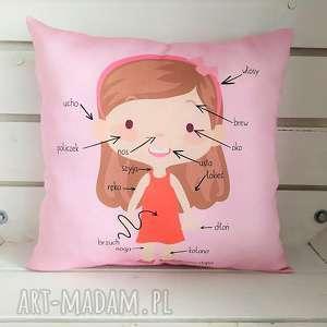 poduszki poduszka edukacyjna części ciała, poduszka, edukacyjna, części, ciała