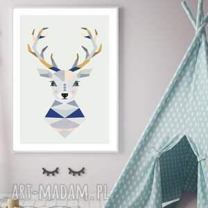Plakat w stylu skandynawskim, 50x70cm, dziecko, ozdoba, skandynawski, druk