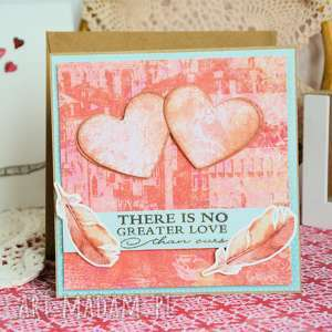 ręcznie robione scrapbooking kartki kartka - there is no greater love than ours