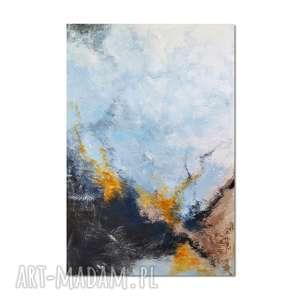 Tierra el Hielo, abstrakcja, nowoczesny obraz ręcznie malowany, obraz,