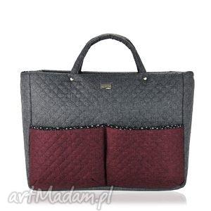 farbotka torebka farbaby leas_world 660, pojemna, modna, duża, podróżna torebki