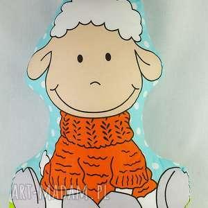 pokoik dziecka owieczka w golfie poduszka, owieczka, zabawka, rękodzieło, chłopiec