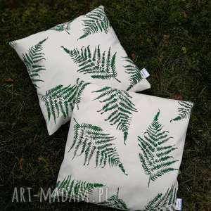 poszewka na poduszkę 50cmx50cm, poszewka, las, paprocie, paproć, góry, natura