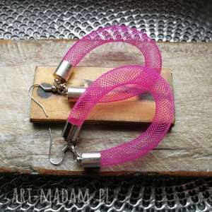 Kolczyki sprężynki nowoczesne lekkie boho ruda klara lekkie