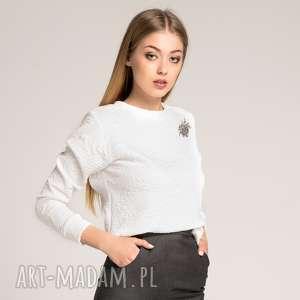 hand-made bluzy biała bluza white wild