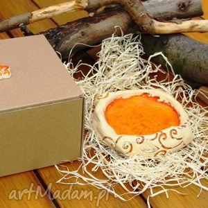 świecznik ceramiczny, świecznik, ceramika, roślinny, świąteczny prezent