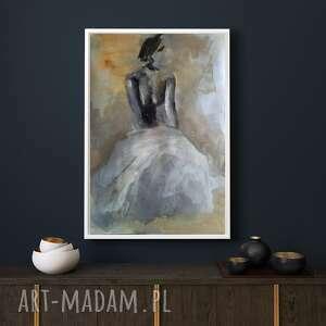 w bieli 39x57, obraz do sypialni, piękne wnętrze, grafika kuchni, nowoczesne