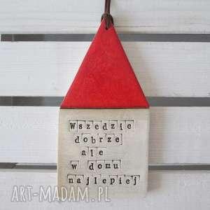 zamówienie dla pani marty, motto, domek, wiszący, duży dekoracje
