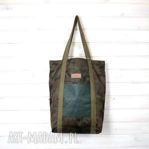 torba moro skórzana wodoodporna, torba, pojemna, xxl, wojskowa, moro