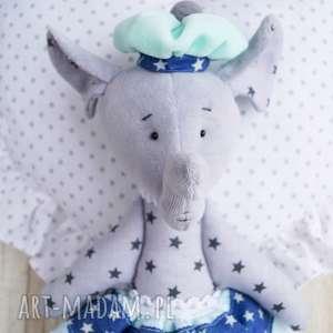 słonik maskotka przytulanka - święta, mikołaj, zabawka