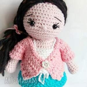 Szydełkowa lalka Helenka - Ręczne wykonanie