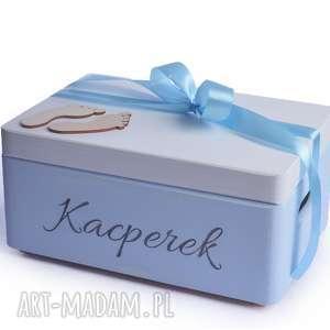ręczne wykonanie pokoik dziecka pudełko na pamiątkę urodziny chrzest