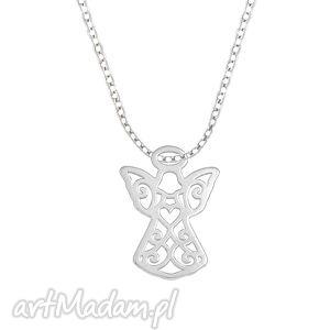 celebrate - angel - necklace - ,aniołek,łańcuszek,celebrytka,