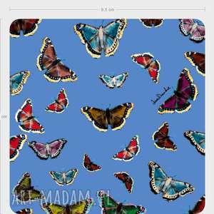 podstawka pod kufel motyle- komplet 7 sztuk, kufel, podstawka, ozdoba, motyle