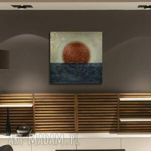 zachód, abstrakcja, obrazdosalonu, sztuka, struktura, pod choinkę prezent