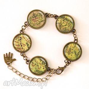 handmade bransoletki mapa śródziemia - bransoletka