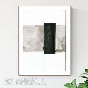 grafika a4, minimalizm, abstrakcja czarno-biała