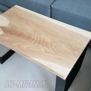 Stolik kawowy deska lita jesion stoły sciete i pociete