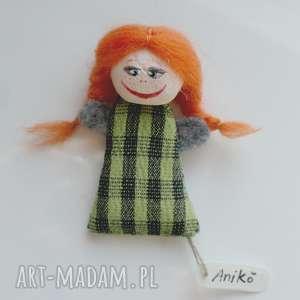 dom tuva - mała laleczka, lalki, pacynki, artystyczne, kolekcjonerskie, eko