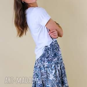 ręcznie zrobione spódnice idealna spódniczka na lato, gumie