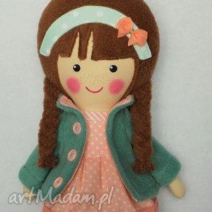 malowana lala klementyna - lalka, zabawka, przytulanka, prezent, niespodzianka, dziecko