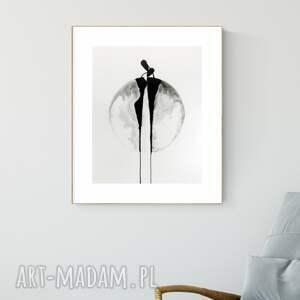 obraz ręcznie malowany 40x50 cm, nowoczesna abstrakcja, 2990695