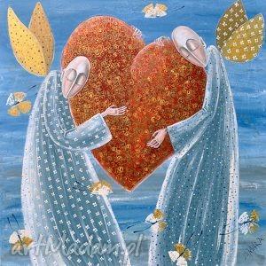 wielkie serce miłość, anioł, anioły